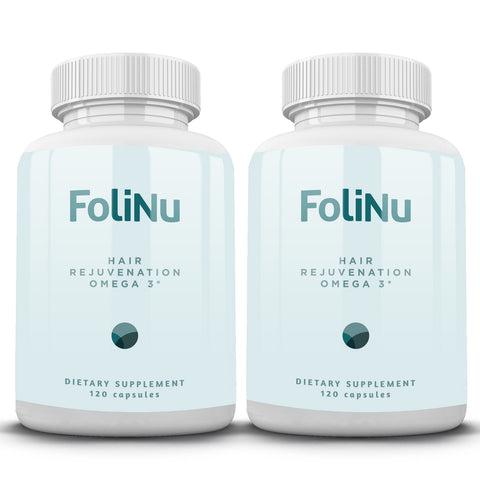 FoliNu Hair Rejuvenation Omega 3 Bundle