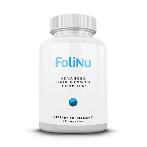 FoliNu Advanced Hair Growth Formula - 60 capsules