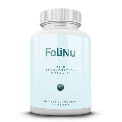 FoliNu Hair Rejuvenation Omega 3s - 60 capsules