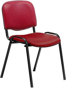 Galaxy Antibacterial Vinyl Waiting Room Chair No Arms