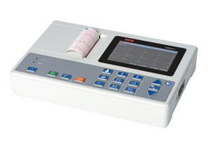 "seca CT8000i 2 - Compact and portable interpretive 12 lead ECG machine with 5"" colour display"