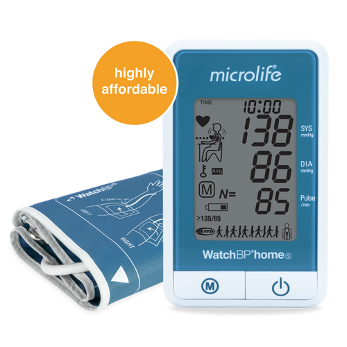 Microlife WatchBP Home Digital Blood Pressure Monitor