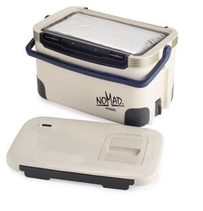 Nomad Medical Cooler 28L with Alarmed Thermometer & Hard Ice Bricks