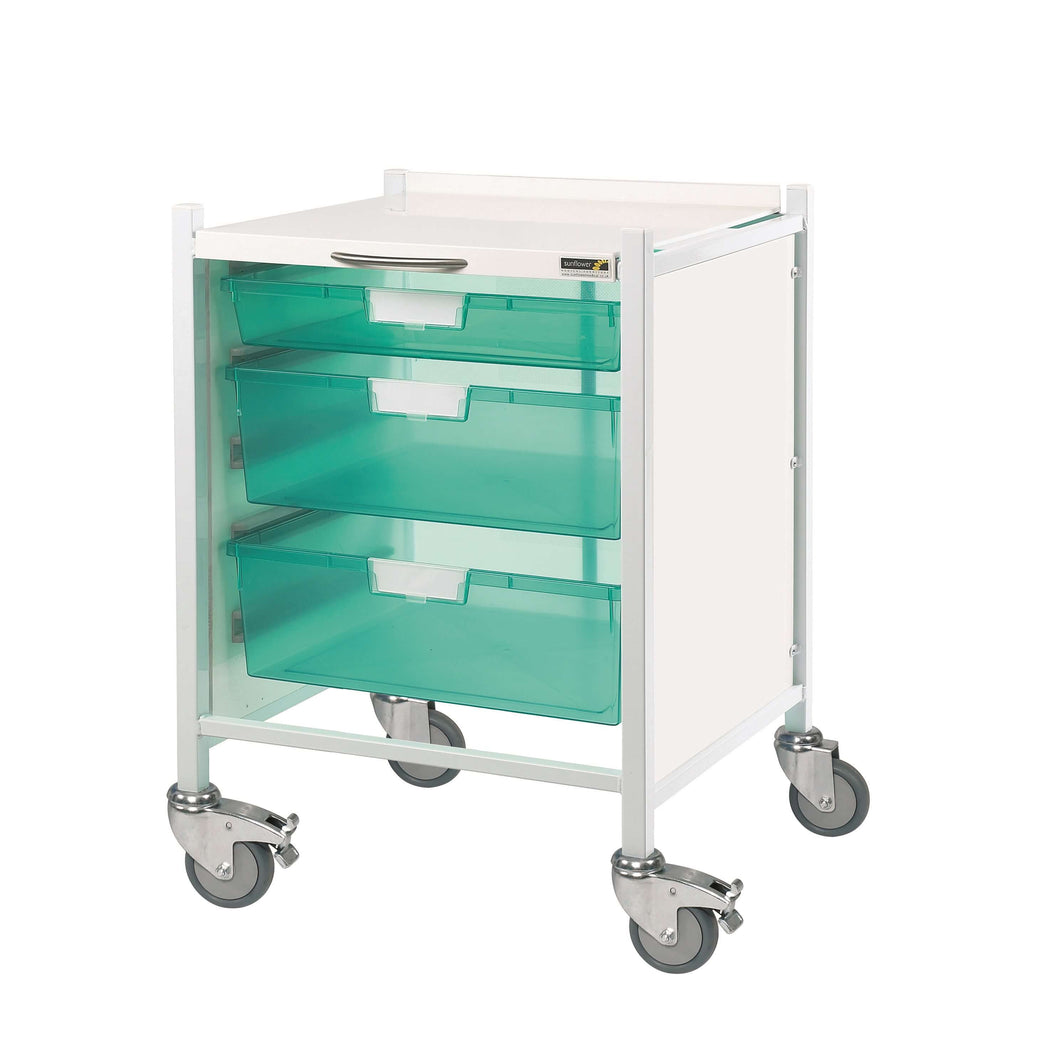 VISTA 40 Trolley - 1 Single/2 Double Trays