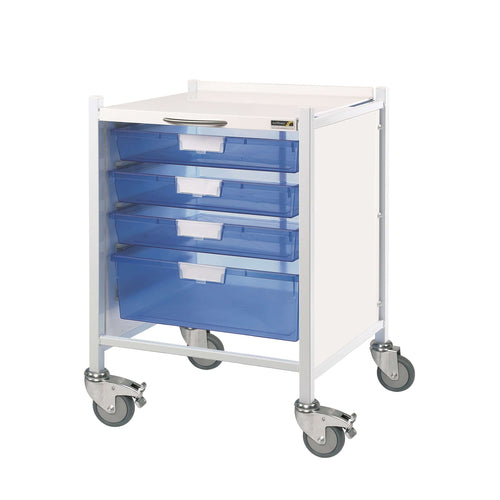VISTA 40 Trolley - 3 Single/1 Double Trays