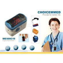 Load image into Gallery viewer, ChoiceMMed MD300C19 Adult Fingertip Pulse Oximeter