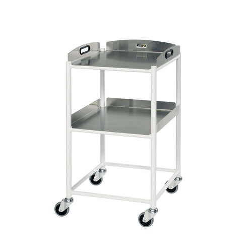 Dressing Trolley, 2 Stainless Steel Trays