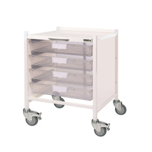 VISTA 15 Trolley - 4 Single Depth Trays