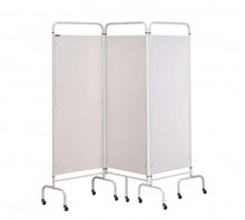 Load image into Gallery viewer, 3 Panel Mobile Folding Hospital Ward Screen