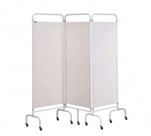 3 Panel Mobile Folding Hospital Ward Screen