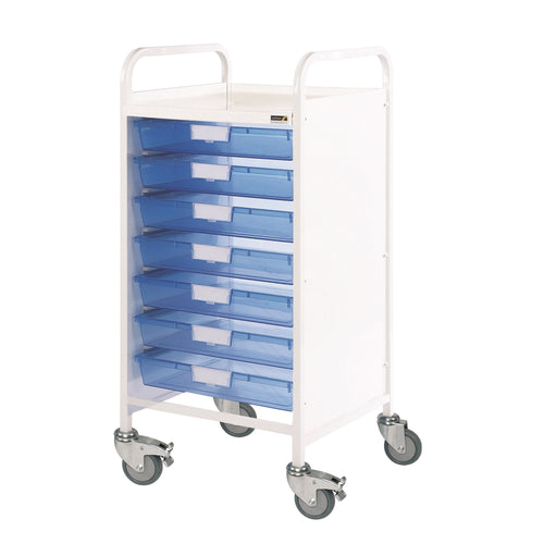 VISTA 55 Trolley - 7 Single Trays