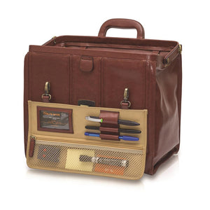 Elite Traditional Leather Doctor's Bag
