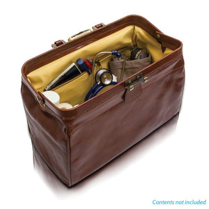 Elite Compact Leather Doctors Bag