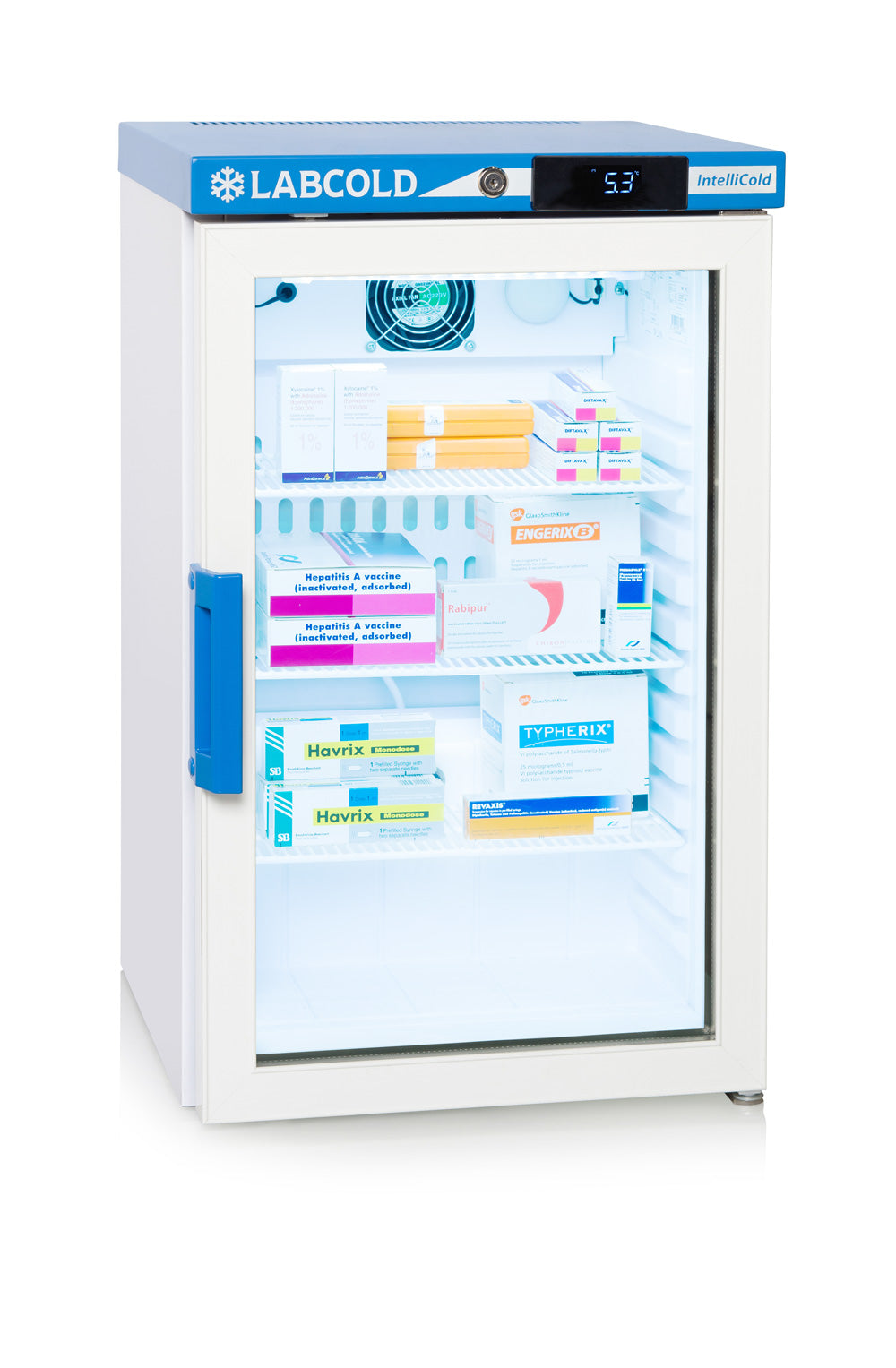 Labcold RLDG0219 Bench Top Glass Door Fridge