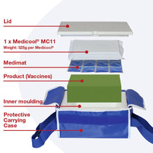 Load image into Gallery viewer, Mini Porter Vaccine Carrying Cool Bag