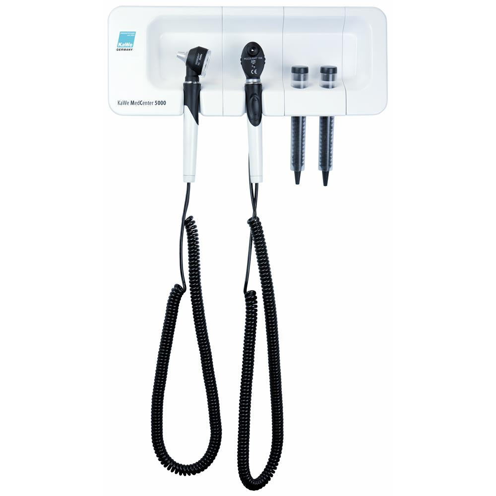 KaWe MedCenter 5000 Wall Mounted Diagnostic Set - Fibre Optic LED