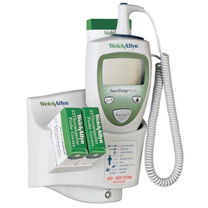 Welch Allyn SureTemp Plus Thermometer with Alarmed Wall Mount