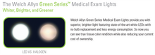 Load image into Gallery viewer, Welch Allyn GS300 Green Series LED Exam Light - Mobile Stand