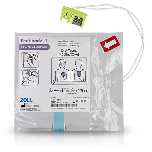 Zoll Pedi-Padz II Infant or Child electrode pads