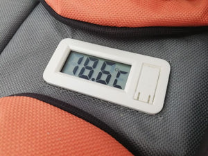 Nomad Soft Medical Cool Carrier with fitted thermometer display in lid