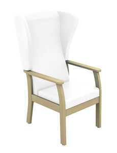 Atlas Patient High Back Arm Chair with Wings
