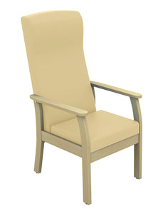 Atlas Patient High Back Arm Chair