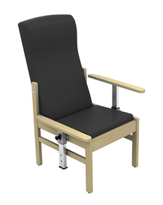 Atlas Patient High Back Arm Chair with Drop Arms