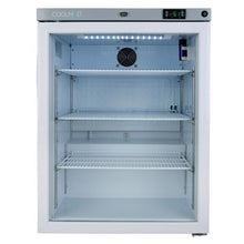 Load image into Gallery viewer, Glass Door Medium Medical, Pharmacy, Vaccine Refrigerator CMG125