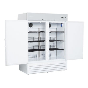 Solid Double Door Large Medical, Pharmacy, Vaccine Refrigerator CMS500