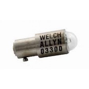 Welch Allyn 03300 U 2.5V Replacement Bulb Halogen Bulb