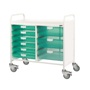 VISTA 100 Trolley - 6 Single/3 Double Trays
