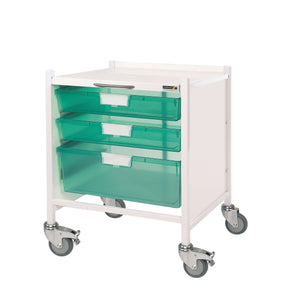 VISTA 15 Trolley - 2 Single Depth/1 Double Depth Trays