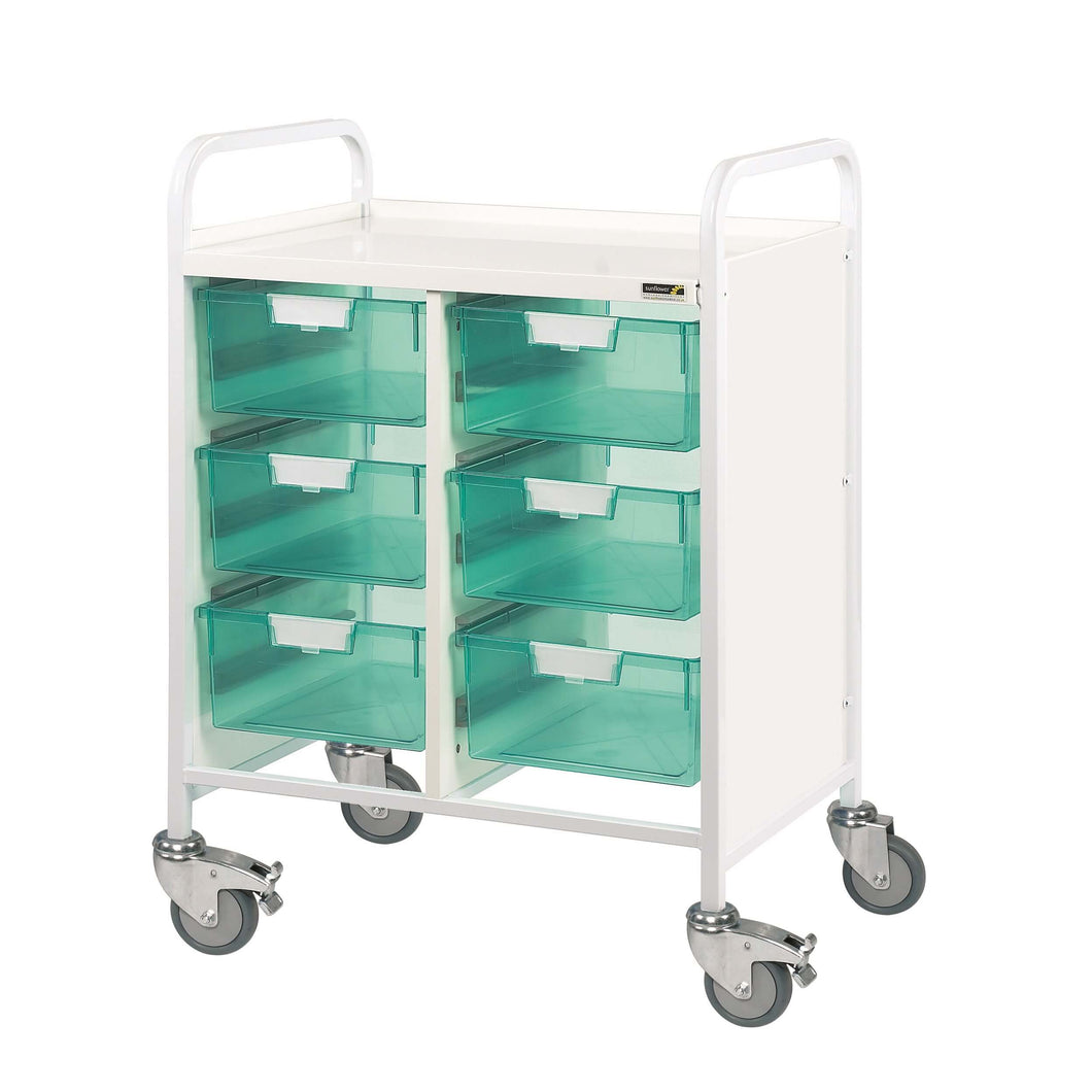 VISTA 60 Trolley - 6 Double Trays