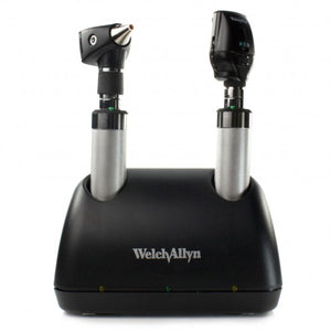 Welch Allyn 3.5V Elite Desk Set (With NiCad Handles)