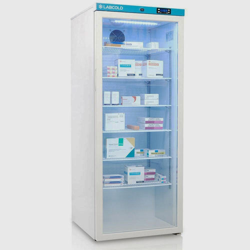 Labcold RLDG1019 Free Standing Glass Door Fridge