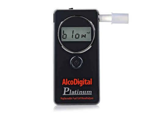 AlcoDigital Platinum Breathalyzer