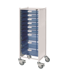 VISTA 120 Trolley with 6 Single & 3 Double Trays