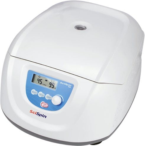 SciSpin ONE Compact Centrifuge