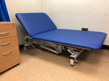 Load image into Gallery viewer, Reconditioned Bariatric Medical / Physio / Treatment extra wide Electric Couch