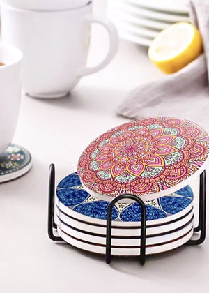 Mandala Coaster Set of 6