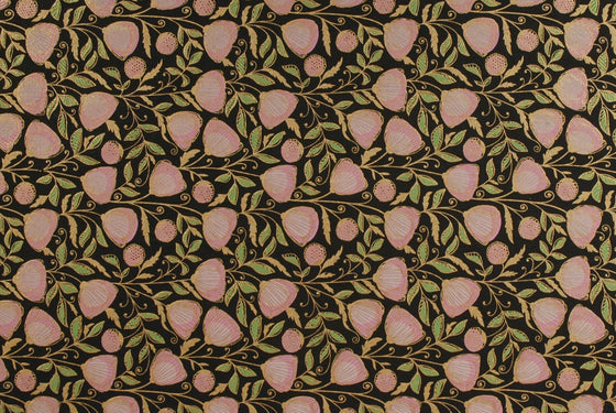 Indian Silkscreen Think Pink Floral