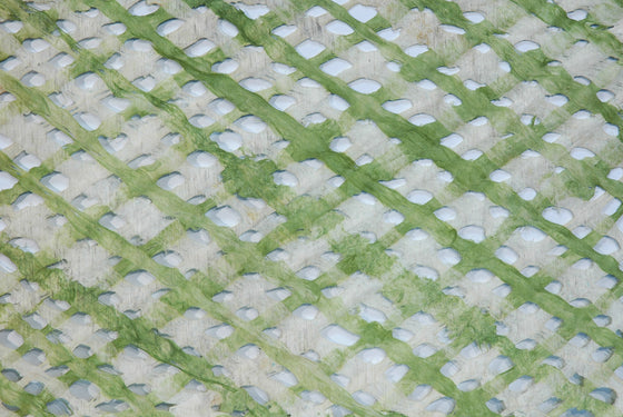 Amate Lattice Green and Natural