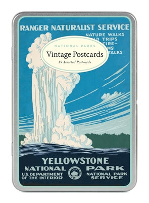 Boxed Postcards National Parks Assortment