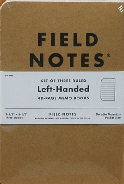 Journal Small Field Notes Left-Handed