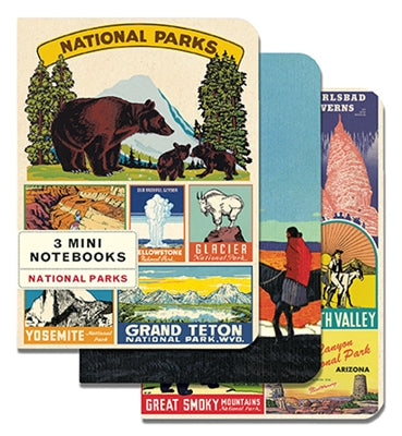 Journal Mini Set/3 National Parks