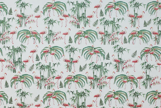 Florentine Print Flamingo & Tropical Plants