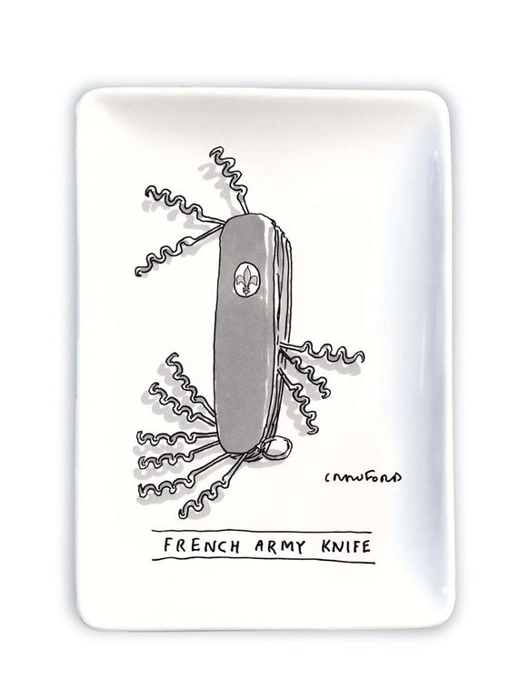 Trinket Tray New Yorker French Army Knife