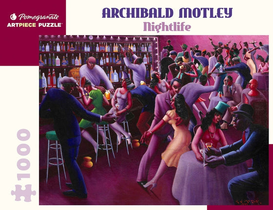 Jigsaw Puzzle Motley Nightlife - 1000 Piece