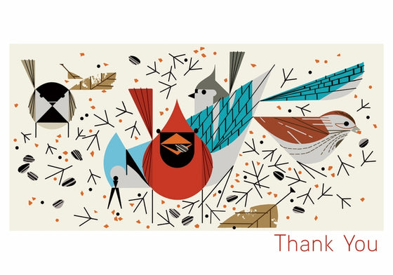 Small Boxed Thank You Cards Harper Birdfeeders