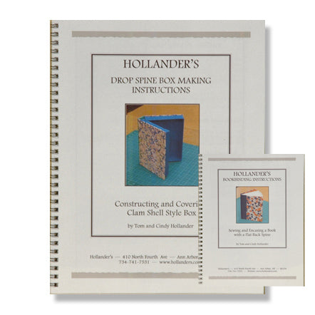 Booklets - Flat Back & Clamshell Box Instructions (Set of 2)